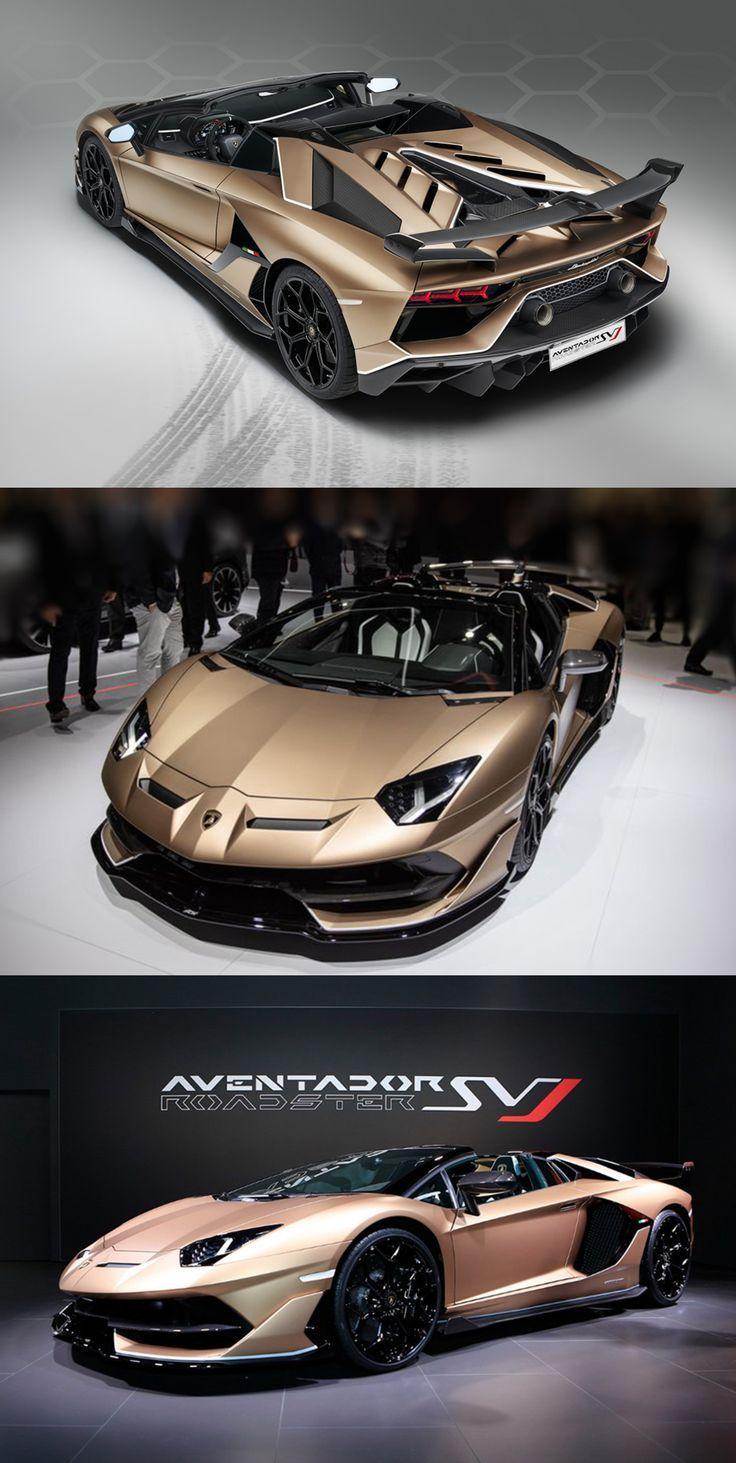 770 PS Lamborghini Aventador SVJ Roadster – Offizielle Premiere (Genfer Autosalon 2019 #lamborghiniaventador