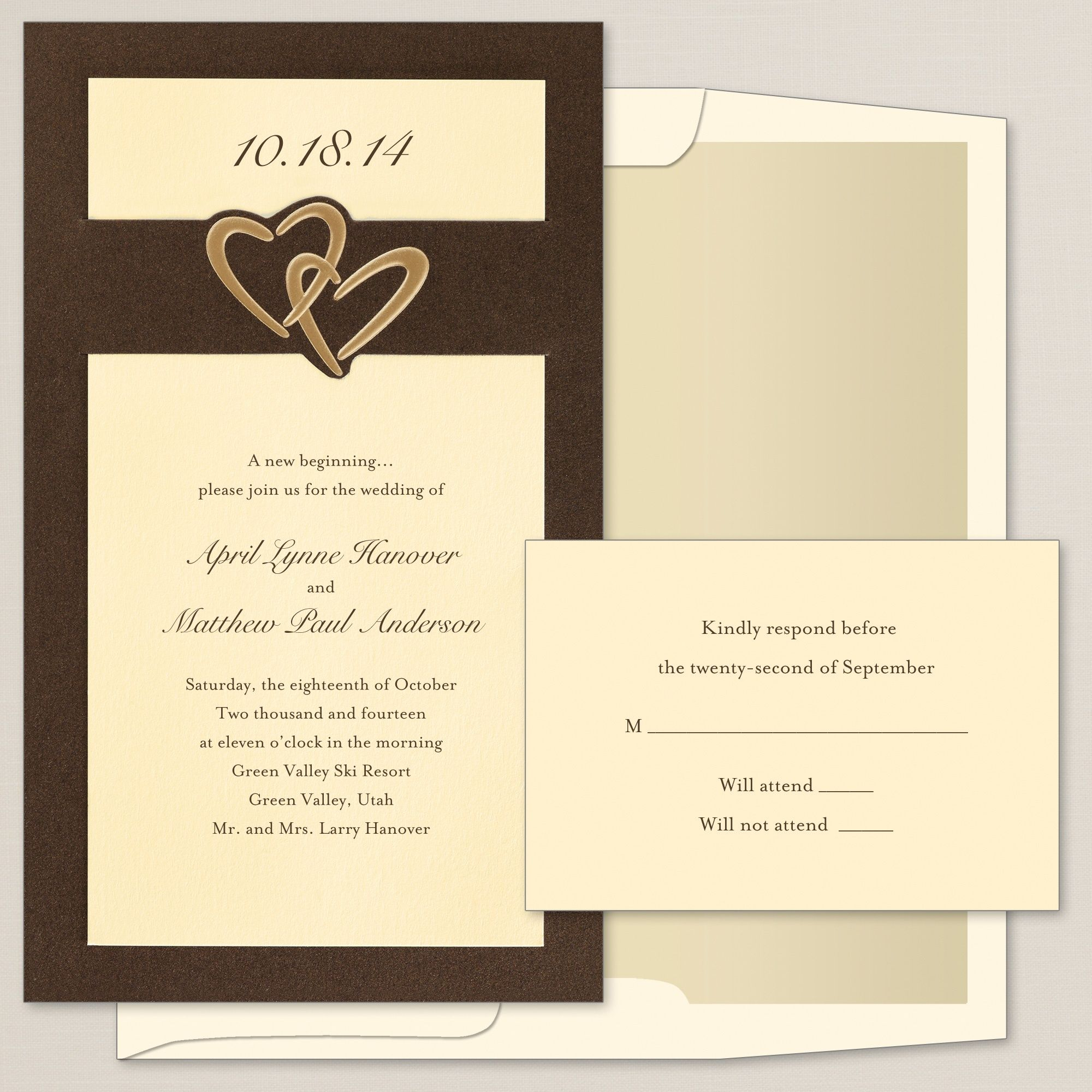 Heart duet wedding invitation exclusivelyweddings wedding stuff