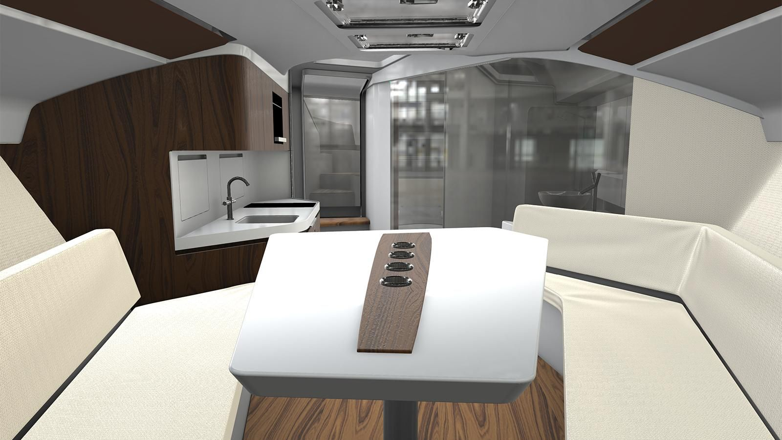 Frauscher Boats has released renderings of its largest motor yacht ...