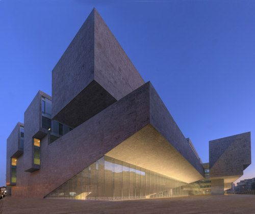 Grafton Architects - Bocconi University, Milan 2008.