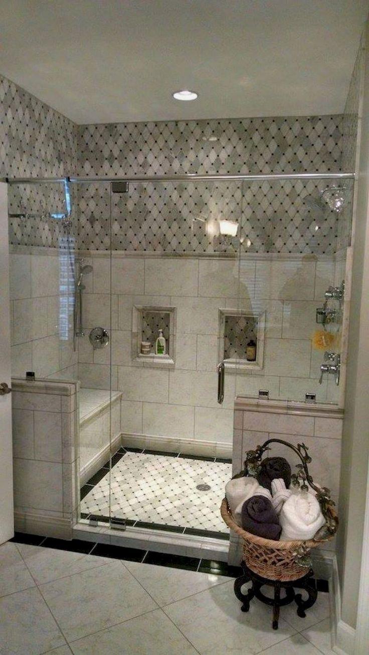 105 Fantastic Small Master Bathroom Design Ideas Small Bathroom Remodel Small Master Bathroom Master Bathroom Design
