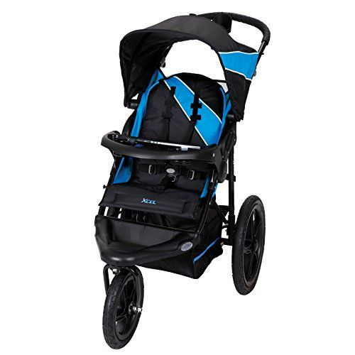 baby trend xcel jogger stroller mosiac blue strollers. Black Bedroom Furniture Sets. Home Design Ideas