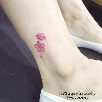 Tatuajes Lindos Y Delicados Para Mujeres 2 Tattoos Blossom