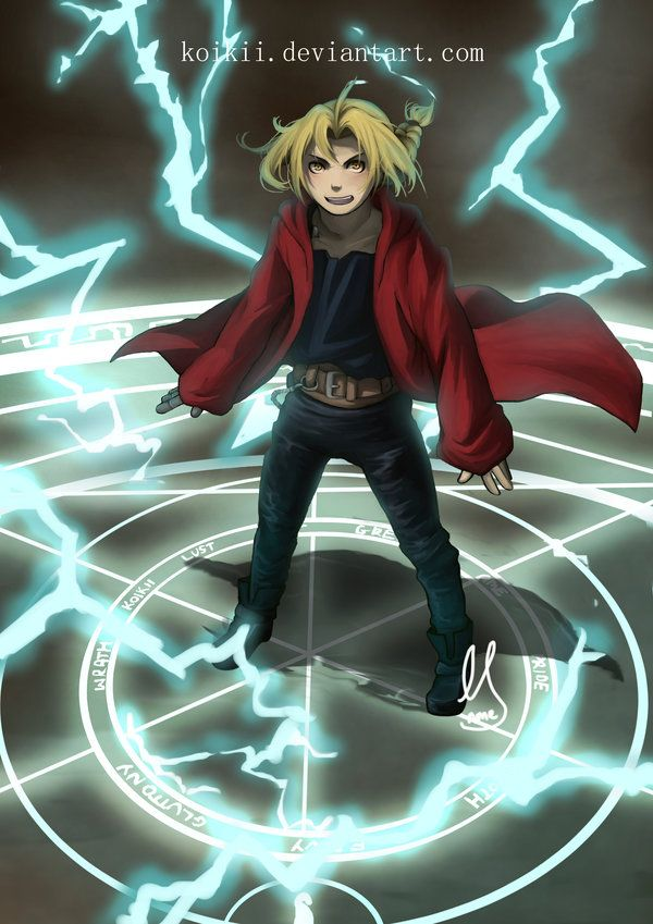 FULLMETAL ALCHEMIST! by Koikii on DeviantArt
