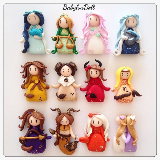 Bijou Petite Poup 233 E Zodiaque Collier Par Babyloudoll