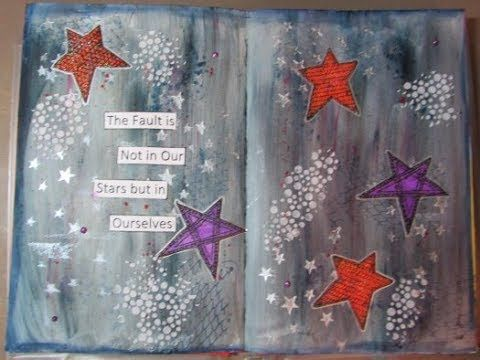 """""""The Fault"""" An Art Journal Page"""
