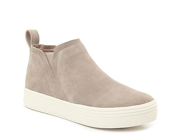 Women Tasha High-Top Sneaker -Grey #fallshoes