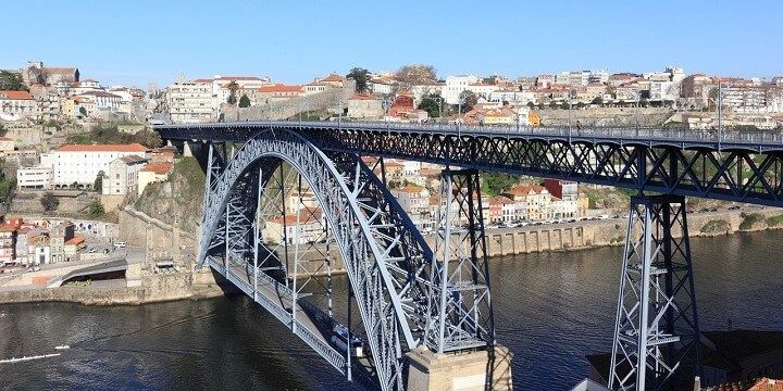 Dom Luis Bridge, Porto, Portugal