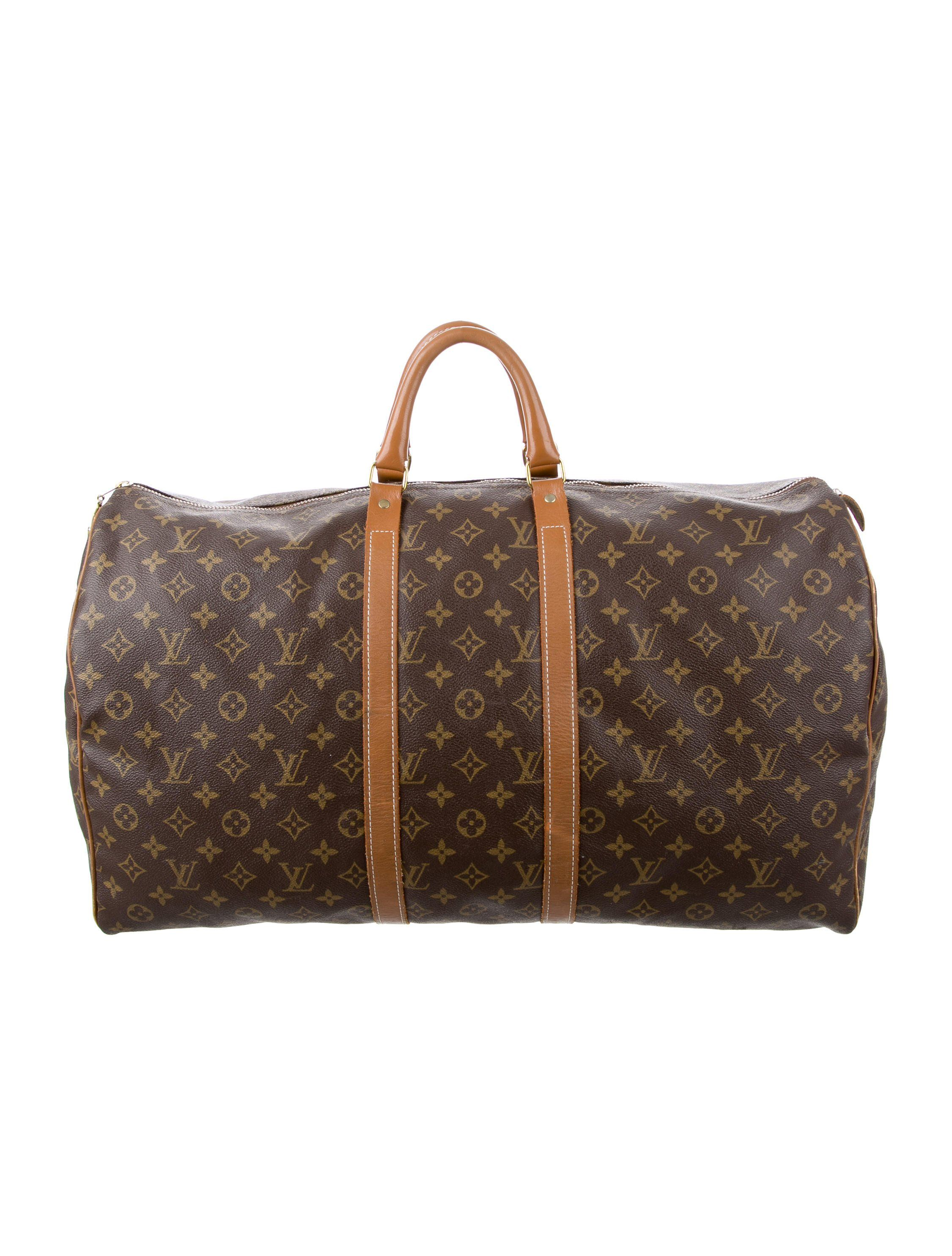 Vintage French Company Keepall 55   Estate Traders Louis Vuitton ... fc33cd61fe