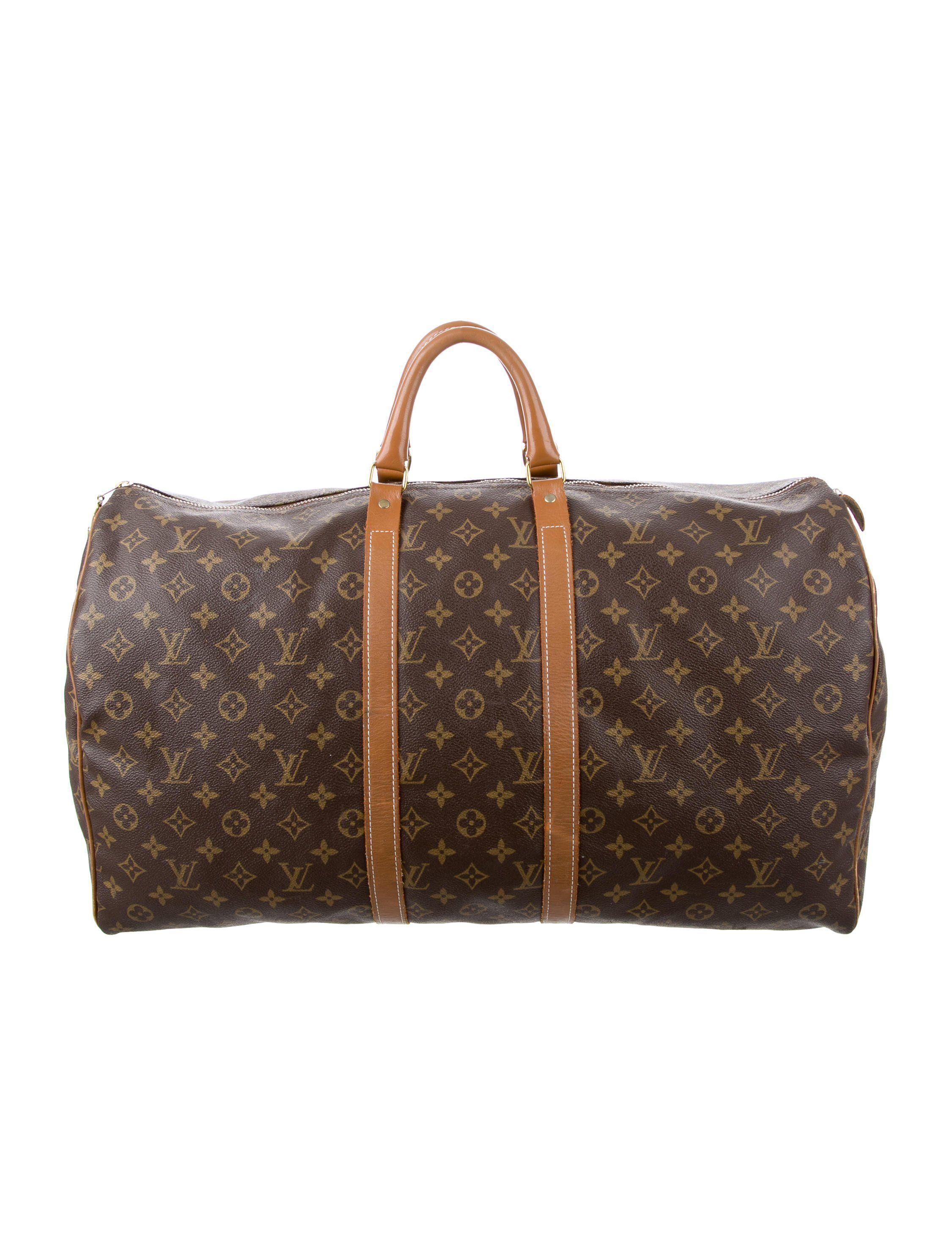 fa627a4fd14b Vintage French Company Keepall 55. Vintage French Company Keepall 55 Louis  Vuitton Consignment