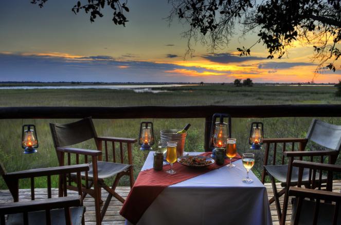 Luxury Safari Tents in the Xakanaxa Region of Botswana