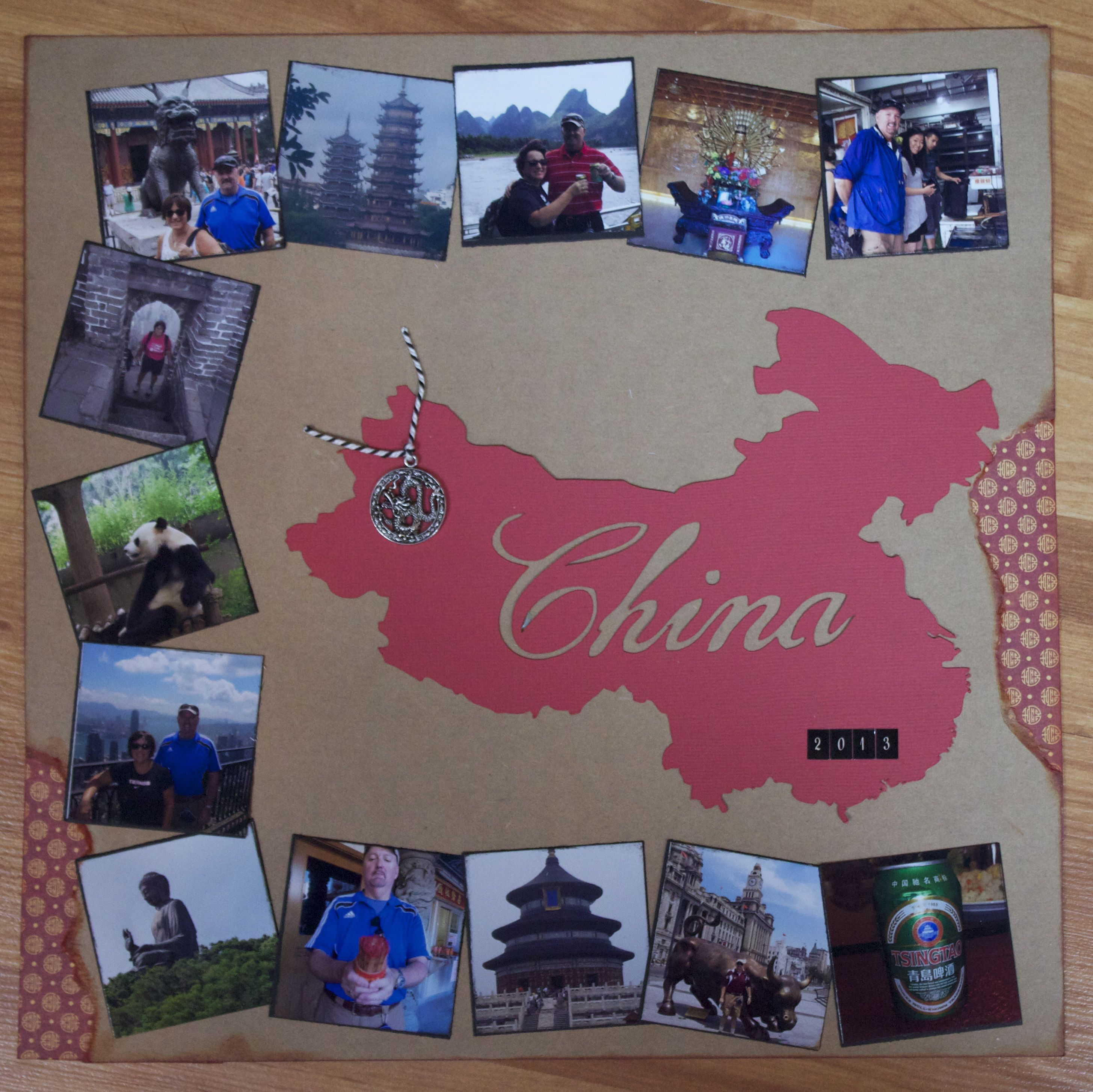 Scrapbook ideas china - China Title Page Scrapbook Com