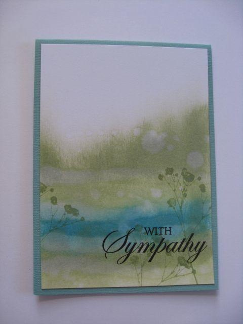 Card Making Ideas Sympathy Part - 38: Sympathy Card