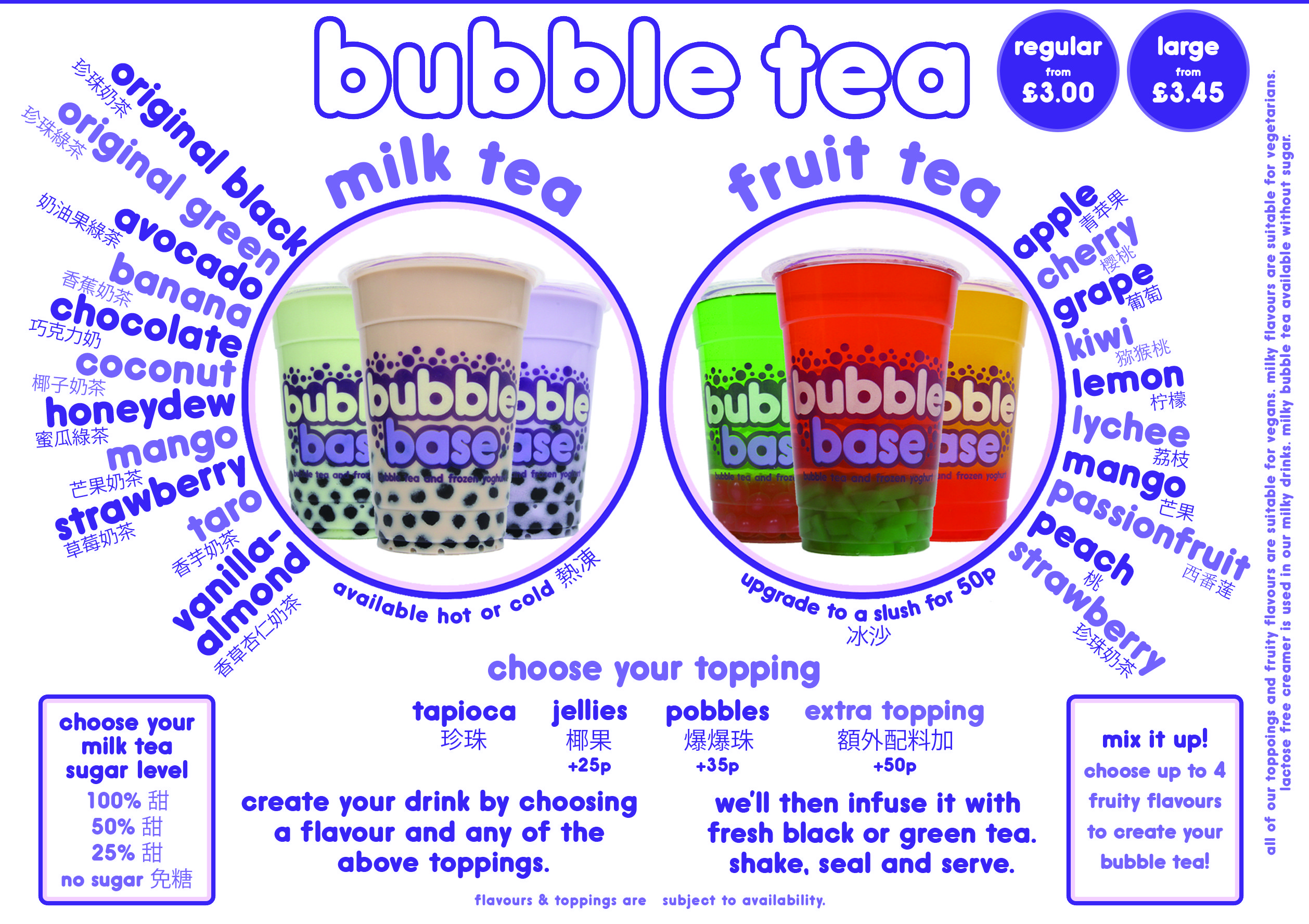 Bubblebase | Bubble Tea & Frozen Yoghurt | Bubble tea ...