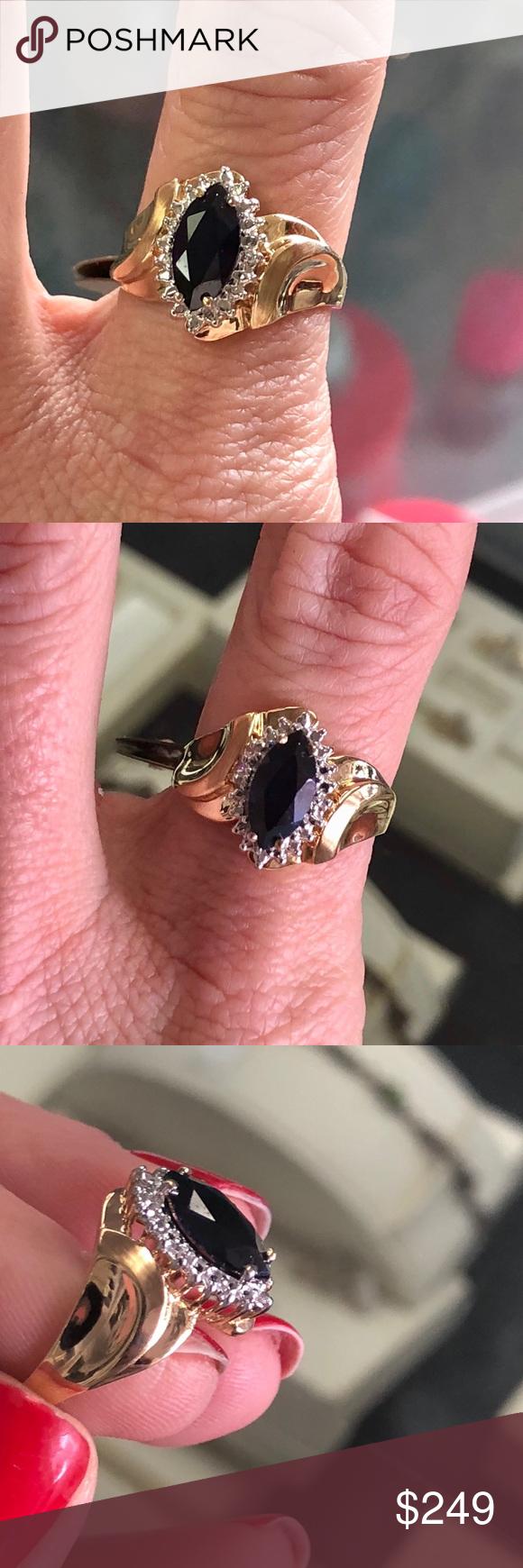 10k emerald ring | My Posh Picks | Pinterest | Emeralds, Ring and ...
