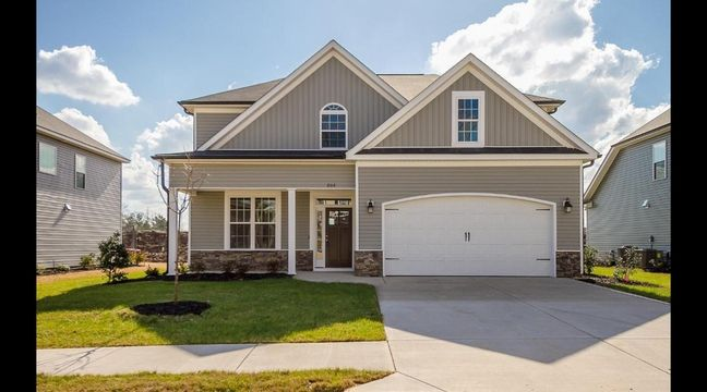 Visit IveyHomescom The Essington plan by Ivey Homes features an