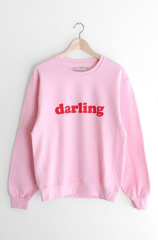 ce77c7d2 Description - Size Guide Details: Oversized crewneck sweatshirt in pink  with print featuring '