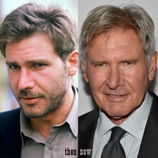 harrison ford - then and nownew and old! | harrison ford <3