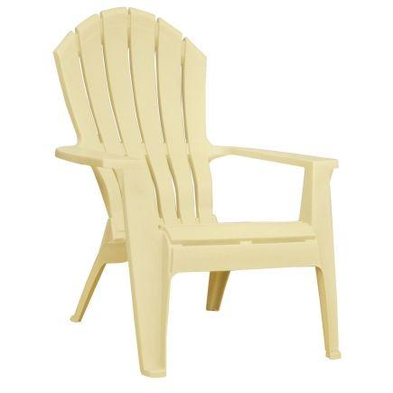 Adams Adirondack Stacking Chair In Banana 20 99 Free Pickup