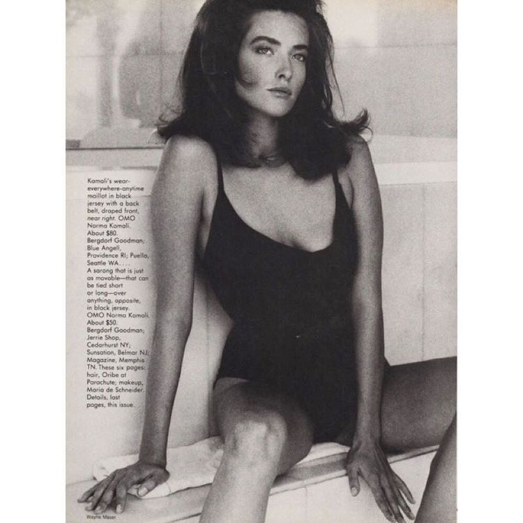 TatjanaPatitz for #Vogue US  1986 photo by #WayneMasser