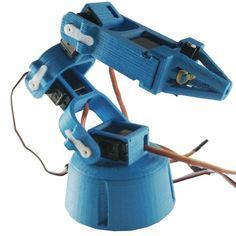 Make Your Own 3d Printed Robot Robot Arm 3d Printing Machine Prints