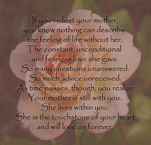 Losing Mom Quotes: Missing My Mom At Christmas - Google Search