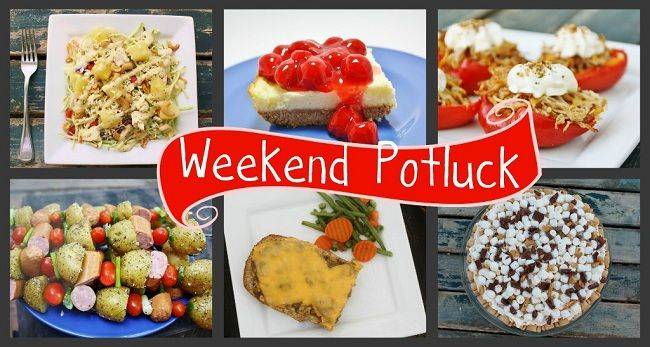 "At this week's Weekend Potluck, tempt your taste buds with breakfast for dinner (or any time of day), a ""refreshing twist"" on a Sonic favorite, and a new Mac & Cheese in town... plus a tremendous list of fabulous links."