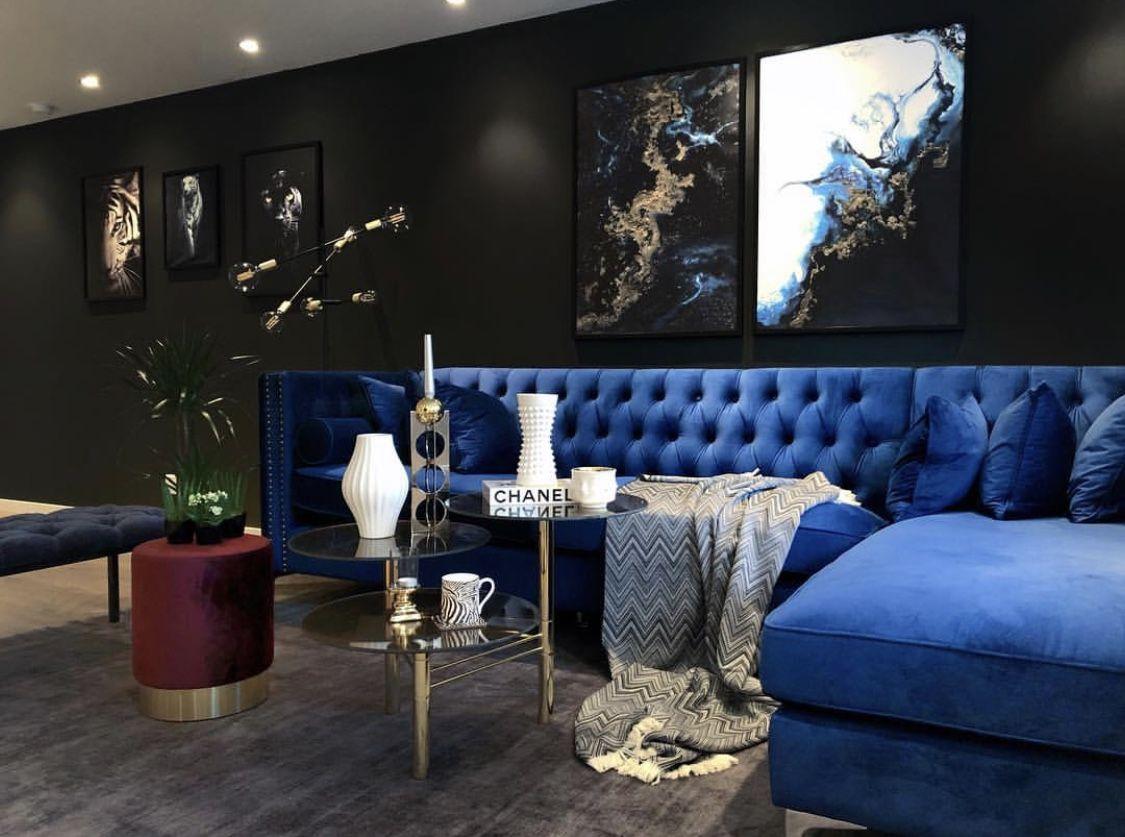 Pin By Ali Lundy On Office Study Classic Interior Decor Velvet Sofa Interior Furniture