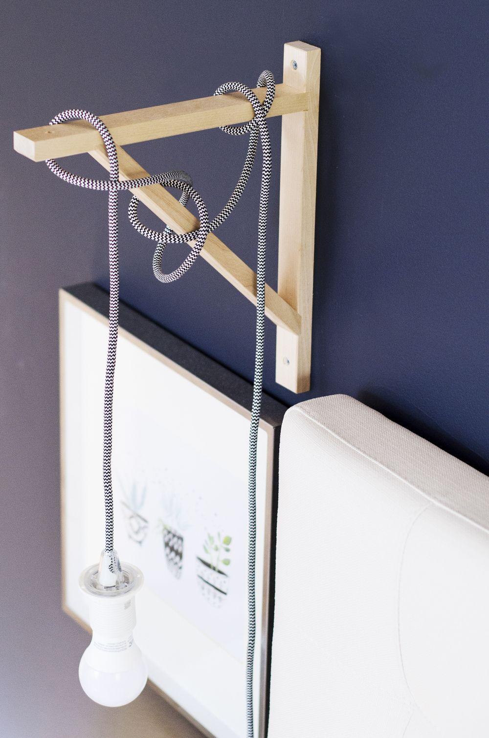 Bedroom Inspiration Side Lamp DIY