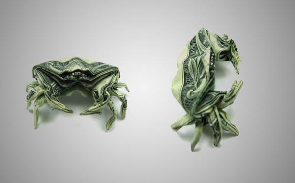 Dollar Origami By Won Park Dollar Origami Origami And Dollar Bill