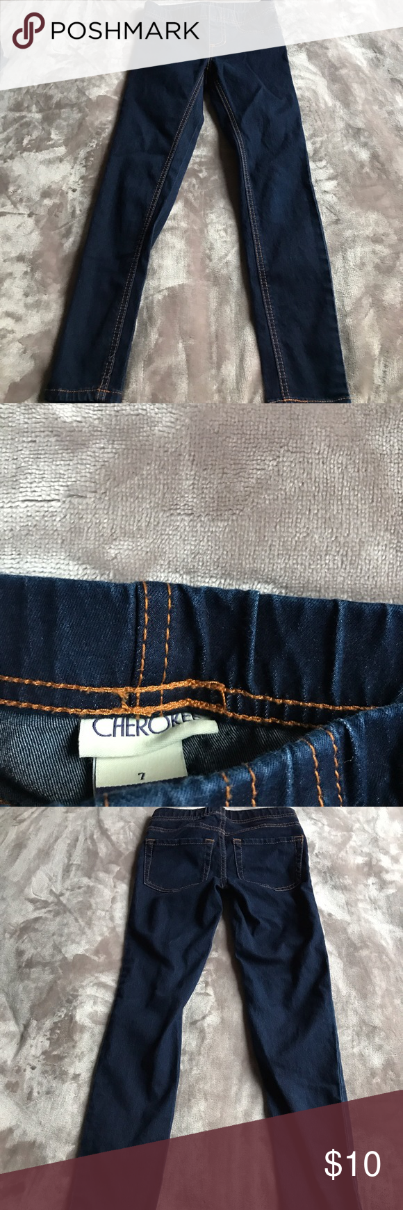 Girls Cherokee jeans. Great condition. Never worn. Cherokee Bottoms Jeans