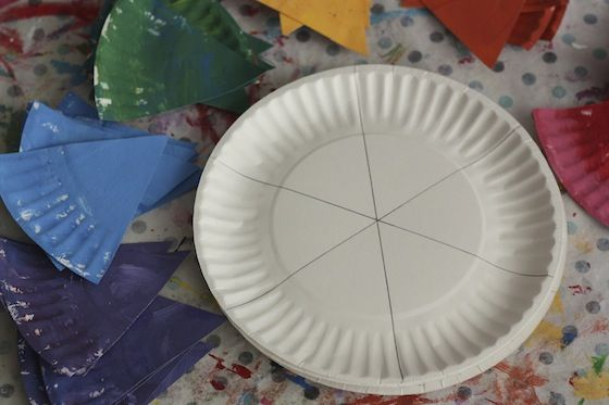 Paper Plate Colour Wheel Craft for Preschoolers & Paper Plate Colour Wheel Craft for Preschoolers | Color wheels ...