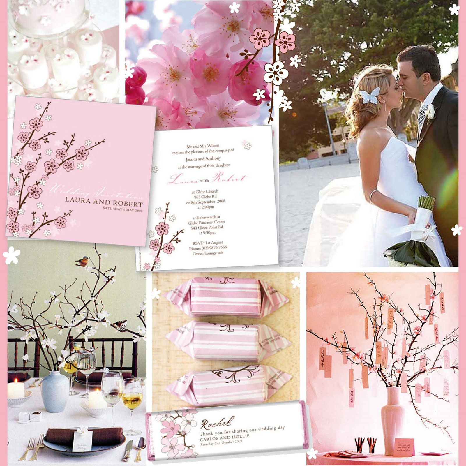 cherry blossom themed wedding | ideas for Debbie\'s wedding ...