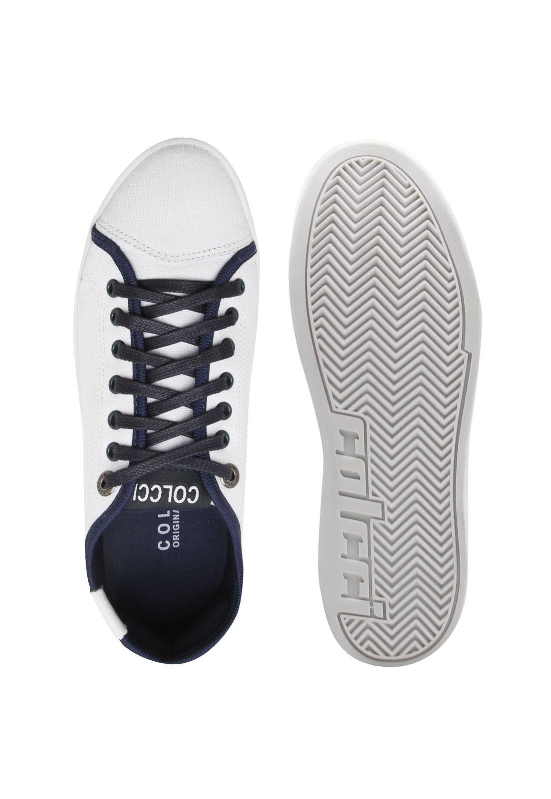 68e6195b5 Tênis Colcci Recortes Branco | Products | Tenis colcci, Colcci e Tenis