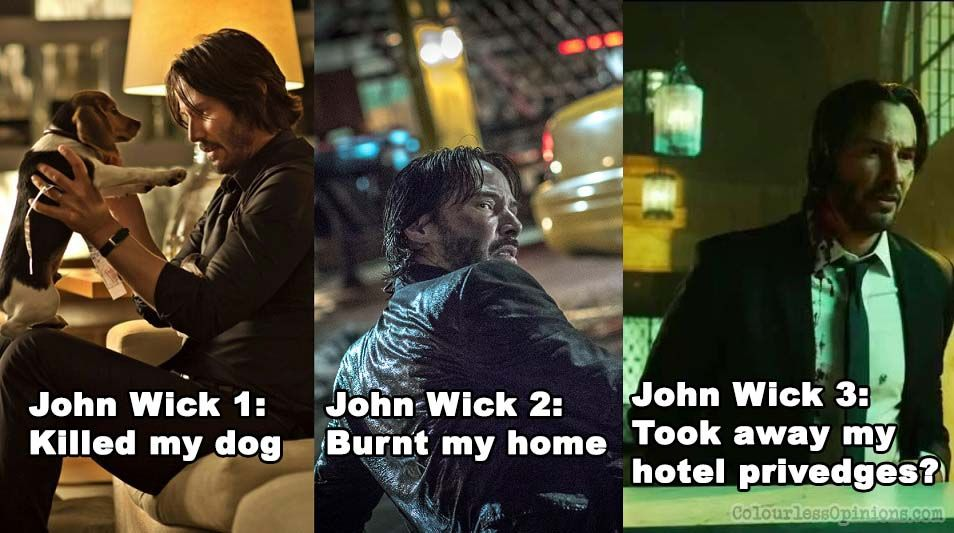 35 Hilarious John Wick Memes That Only Its True Fans Will Understand John Wick Memes Hilarious