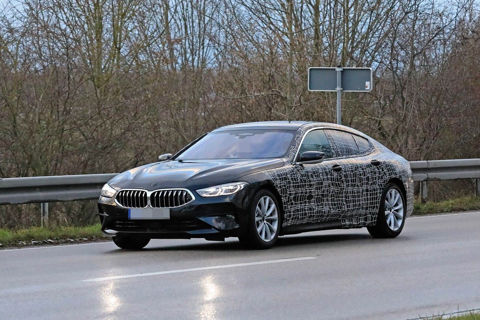 2020 Bmw 8 Series Gran Coupe Camouflages Are Available Now We