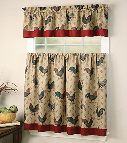 Robot Check Kitchen Curtains Country Kitchen Curtains Curtains