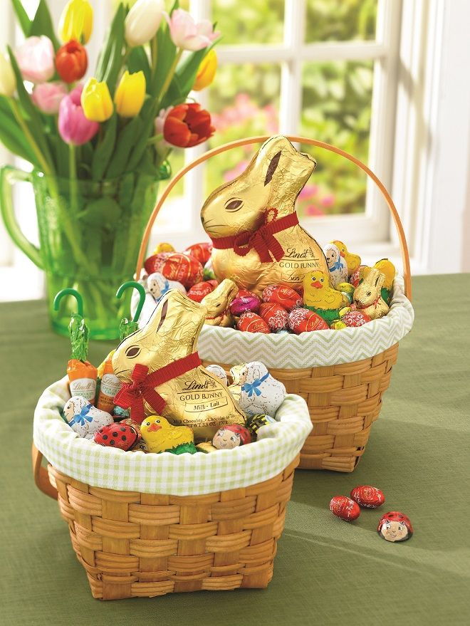Lindt easter basket inspiration with lindor eggs easter lindt lindt easter basket inspiration with lindor eggs negle Choice Image