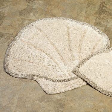 Scallop Shell Bath Rug