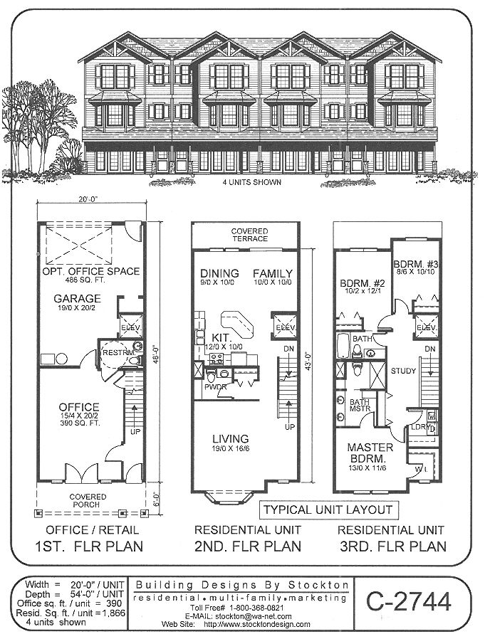 Building Designs By Stockton Plan C 2744 House Plans House Plans Australia Beach House Plans