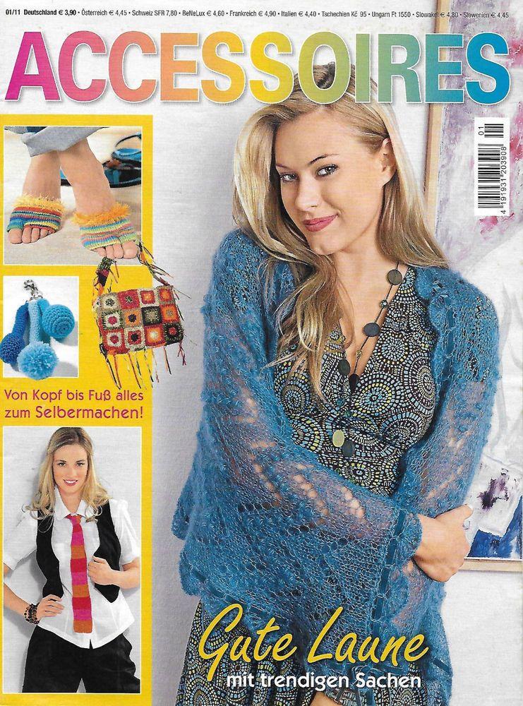 Magazin Accessoires Nr 1 2011 Anleitungen Zum Stricken Häkeln