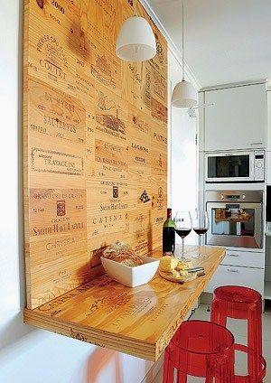 3 idées récup et bricolage maison pas chers kitchen Pinterest