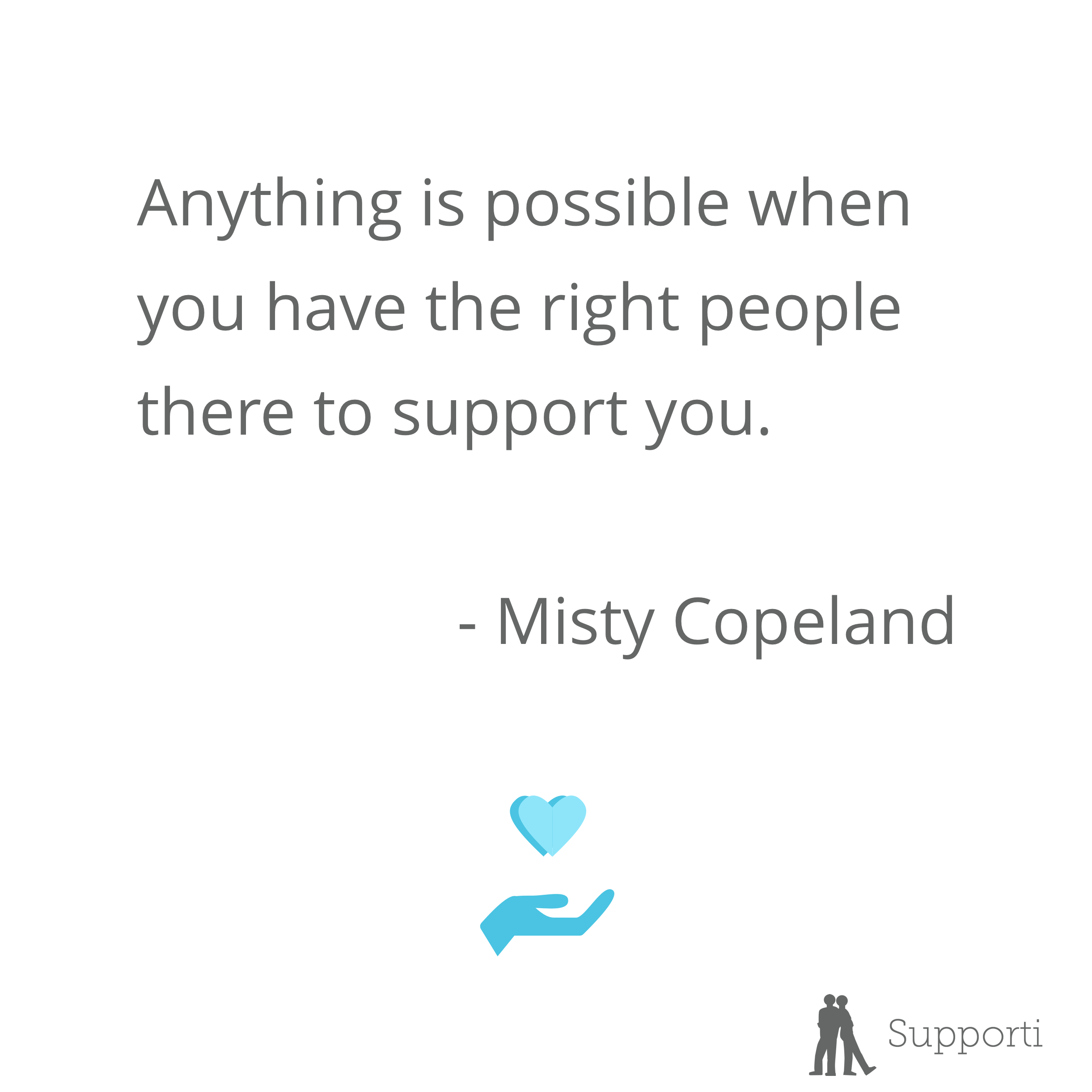 Motivational Quote By Misty Copeland Happy Family Quotes Inspirational Quotes Support Quotes