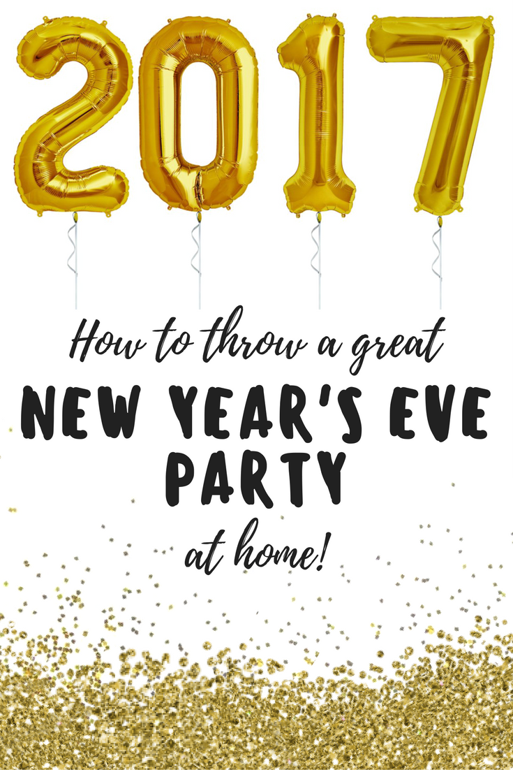 How to throw a great New Year\'s Eve without leaving your house ...