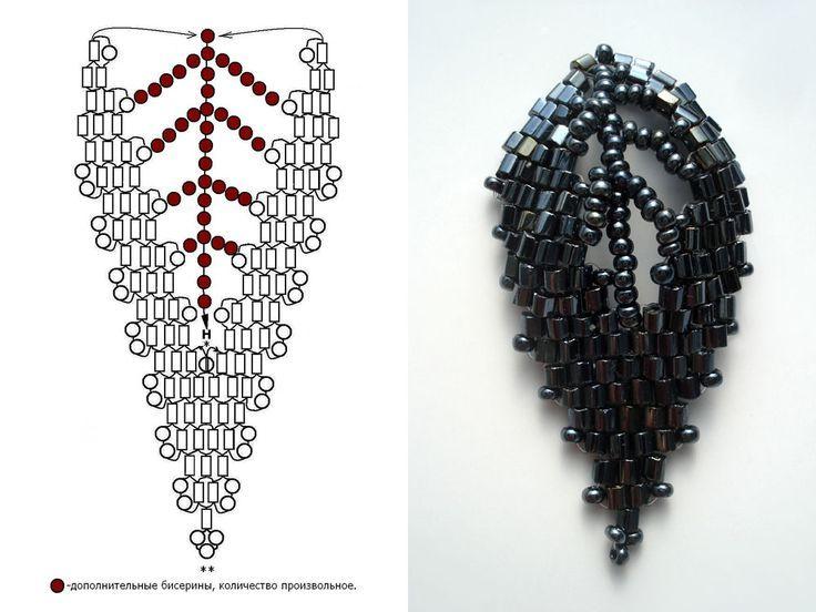 Photo of Victoriya Katamashvili. Russian Leaves   Beads me   Pinterest