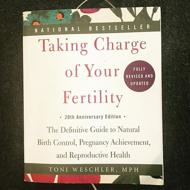 Empower through knowledge... #takingchargeofyourfertility #toniweschler #yogatherapistintraining #bookstagram #bookaholic #empoweringwomen