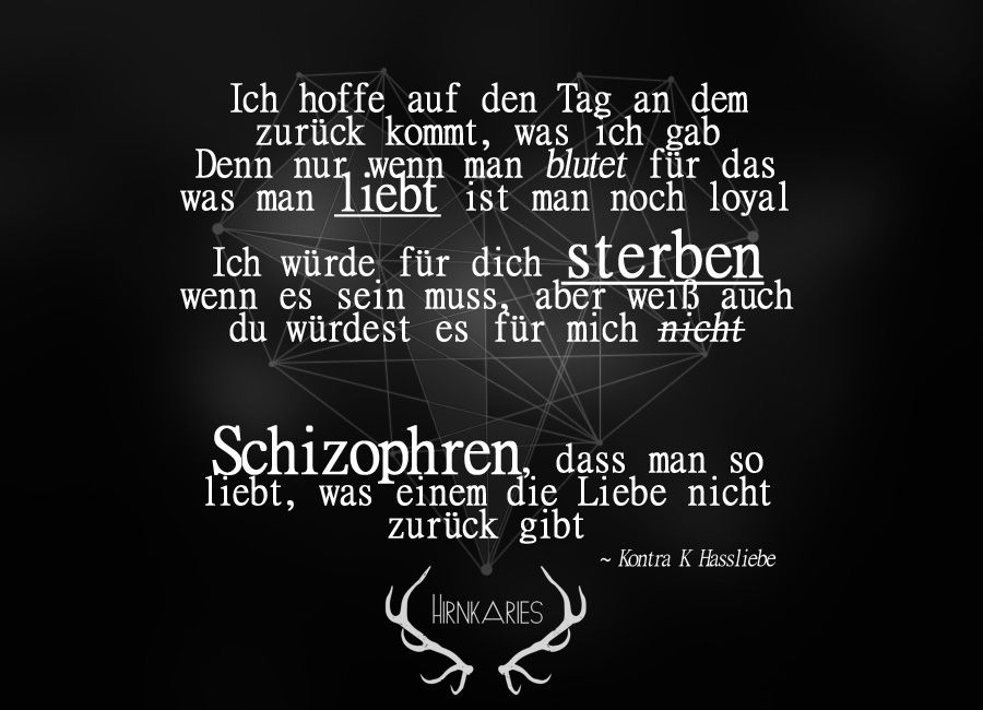Kontra K Hassliebe Lied Zitate Spruche Zitate Songtexte Deutsch  Strassenbande