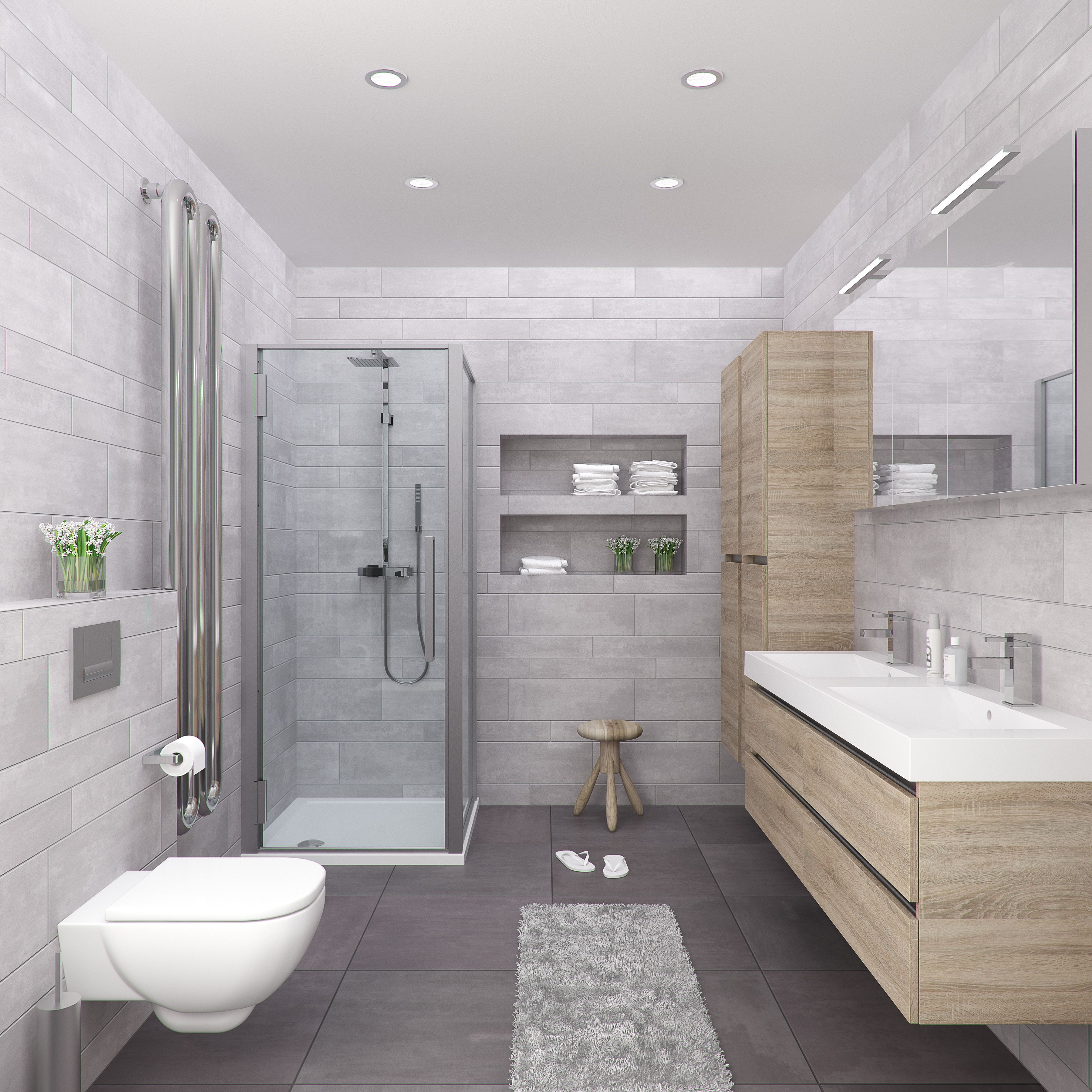 Bruynzeel Palitano 160 cm bardolino // badmeubel badkamer sanitair ...