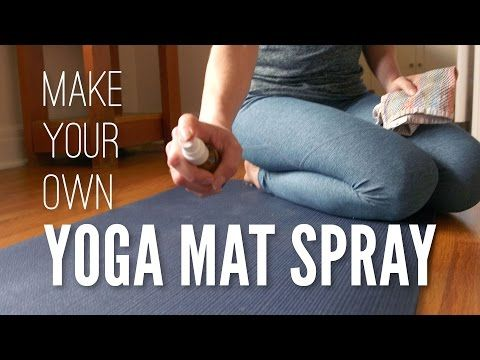 Homemade Yoga Mat Spray Tutorial Yoga With Adriene