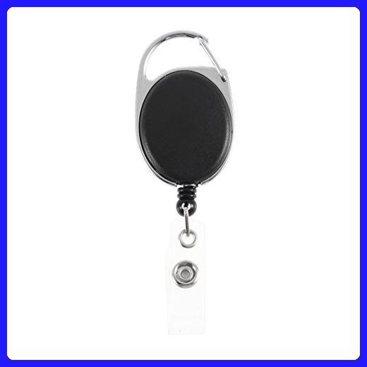 4c8f97782845 Key Ring Chain 1pc Retractable Pull Key Ring Chain Reel ID Lanyard ...
